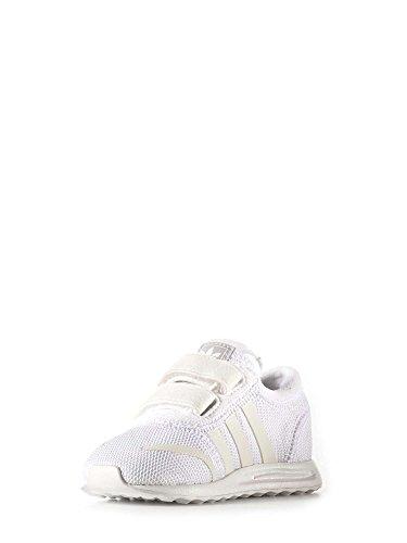 adidas Unisex Baby Los Angeles Cf Espadrilles Weiß