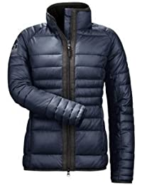 Cavallo de falsos de chaqueta de plumón Jessika, unisex, Azul marino