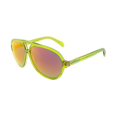 Diesel Sonnenbrille DL0075-95U (53 mm) grün