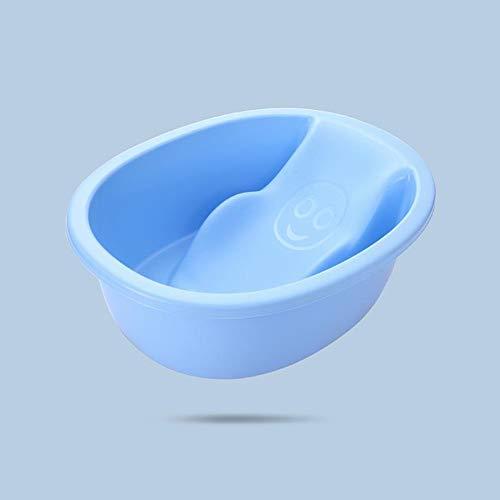 Sdzq Vasca da Bagno Addensata Antiscivolo Vasca da Bagno Vasca per Bambini Vasca da Bagno per Bambini (Color : Blue)