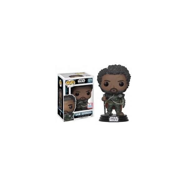 Funko Pop Saw Gerrera (Star Wars 153) Funko Pop Rogue One (Star Wars)