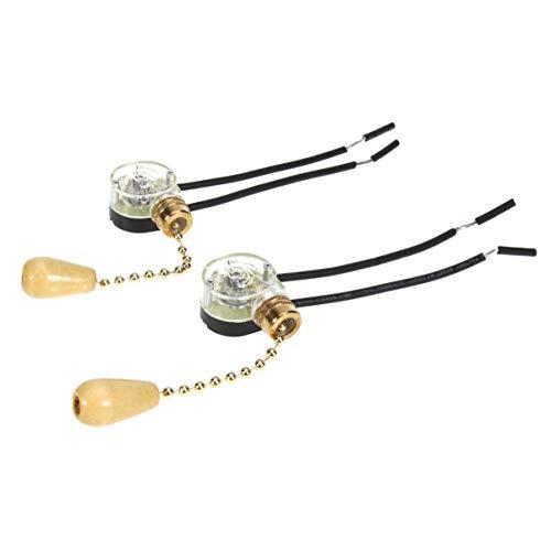 Yardwe luz techo lámpara ventilador extracción cadena