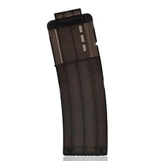 TXXCI Soft Bullet Clip Pistole Clip Reload Clip Magazine für 15 Darts Für Nerf N-Strike Elite Serie Spielzeuggewehre-Schwarz