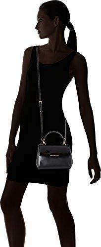 Michael Kors - Ava, Borse a secchiello Donna Nero (Black)