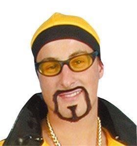 Kostüm Erwachsene Für Rap Star - Rap Star Tache And Beard Fancy Dress