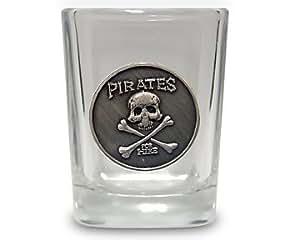 Pirates For Hire Shot Glass Pirate Glassware NEW