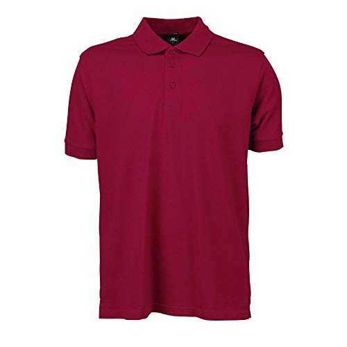 Tee Jays - Mens Stretch Deluxe Polo / Deep Red, XXL XXL,Deep Red