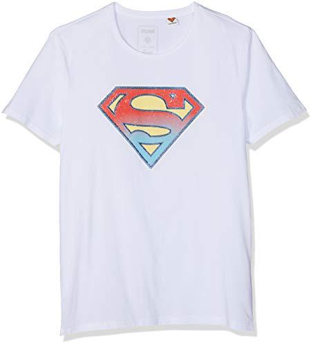 Mavi Herren Superman Tee T-Shirt Weiß (White 620) Small (Herstellergröße: S) (Weiß Superman Shirt)