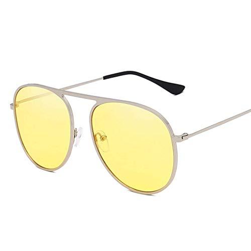 IMHERE W U Unisex Metallrahmen Sonnenbrillen Männer Frauen Straßen-Verschlussfahrradreise Sonnenbrillen Anti-UV-Brillen