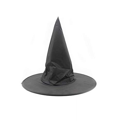DDG EDMMS Damen Popular Schwarze Brötchen Accessoires für Anzug Hut Rollenspiel Halloween Kostüm-Party