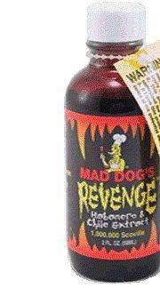 Preisvergleich Produktbild Mad Dog Revenge Extract 1 Mio. Scoville 50ml Flasche