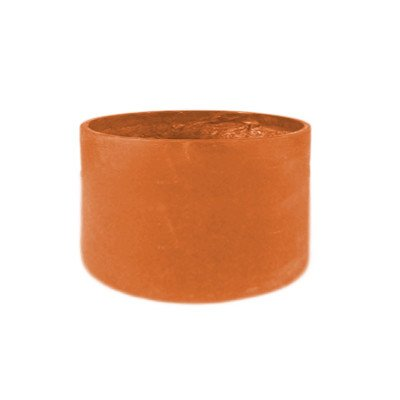 Amedeo DesignResinStone Modularer Blumentopf, zylinderförmig 21L x 21W x 36H Terra Cotta -