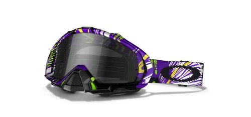 Oakley Herren MX Brillen Mayhem Mx pop Art Purple