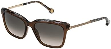 Carolina Herrera SHE689 GOLD / BEIGE / BROWN GRADIENT (09GW) - Gafas de sol