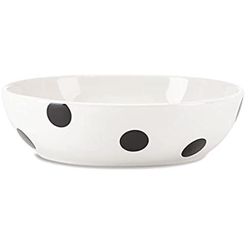 Kate Spade All In Good Taste Deco Dot 8 Inch Individual Pasta Bowl by Kate Spade New York
