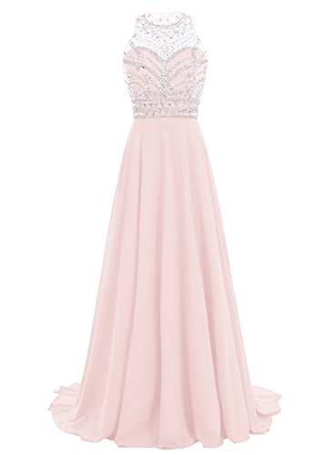 Bodenlanges kleid rosa