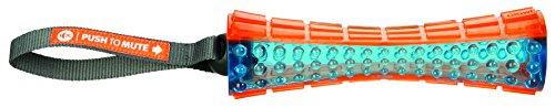 Trixie 33552 Push to mute Stick am Gurt, orange/blau