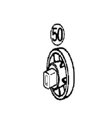 Preisvergleich Produktbild Panasonic Ersatzteil EY 3654 NR. 50 Piston Joint Kolbenaufnahme