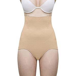Dilency Sales Women's New Tummy Tucker Grip Wire No Rolling Down Shapewear (Best Fits Upto 32 to 36 Waist Size)