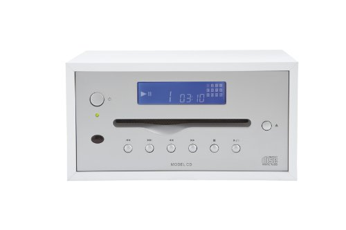 Tivoli Model CD, CD-Player Stereo, White/Silver (Cd-player Tivoli)