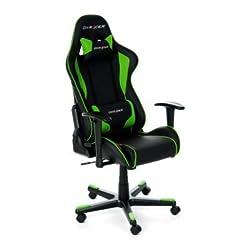 DXRacer OH/FE08/NE Formula Gaming Chair - schwarz/grü