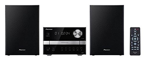 Pioneer X-EM12 Sistema Micro Hi-Fi con CD, USB e Sintonizzatore FM, 2x 15 W, Nero/Antracite