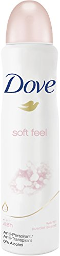 Dove Deospray Soft Feel Anti-Transpirant, 6er Pack (6 x 150 ml)