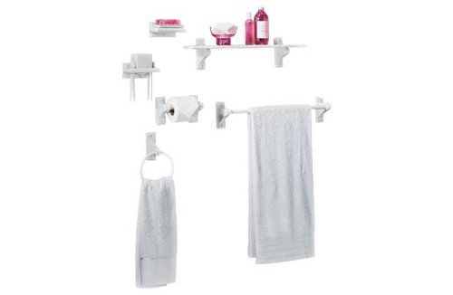 white bathroom accessories amazoncouk - White Bathroom Accessories Uk
