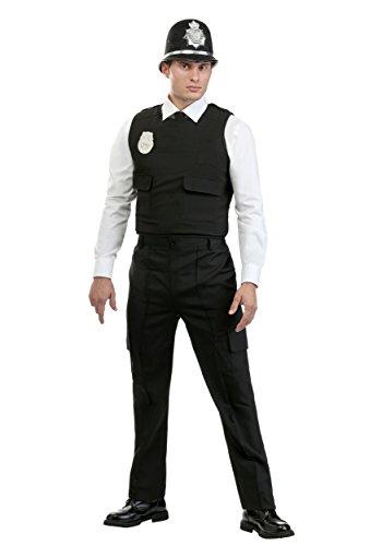 British Guard Kostüm - Herren Modern British Bobby Kostüm - L