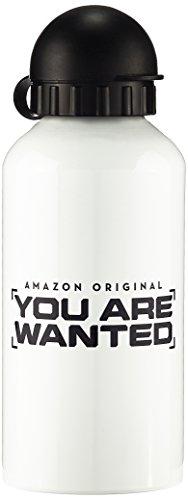 Preisvergleich Produktbild You Are Wanted Trinkflasche Weiß Logo