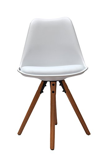 Set Of 4 Retro Design Eames Inspired Kitchen Dining Chair ...