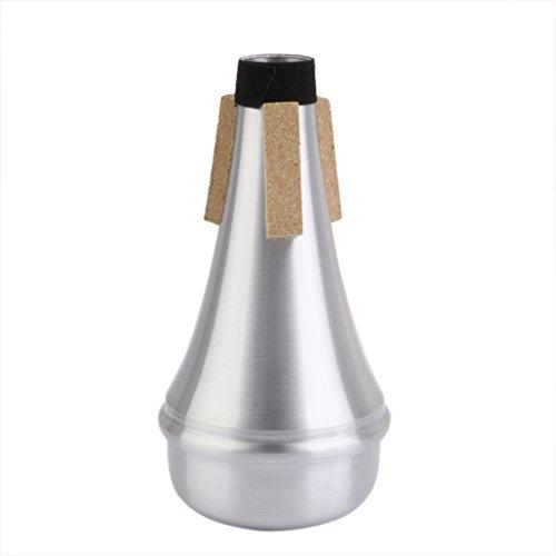 Aluminium Trompete Straight Practice Cup Dämpfer Lightweight Silencer Anfänger