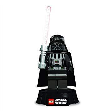 Lego 156 - Darth Vader 8 Zoll LED Schreibtischlampe - Star Wars Spielzeugfigur