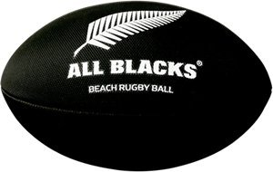 Gilbert - Pallone Rugby Gilbert Beach Rugby All Blacks Nero