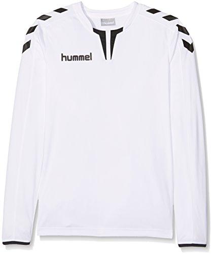 Hummel Jungen Trikot Core Long Sleeve Poly Jersey, White, 164-176