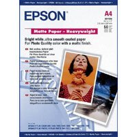 Price comparison product image Epson C13S041256 - HEAVYWEIGHT MATTE PAPER A4