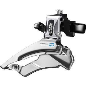 SHIMANO Altus FD-M313 Umwerfer 7/8-fach Schelle Dual-Pull schwarz Ausführung 63-66° Kettenstrebenwinkel 2019 Mountainbike -