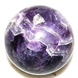 Heilung Kristalle Indien®: Natürliche Amethyst 50–60mm Poliert Kristall Kugel Ball metaphysisch...