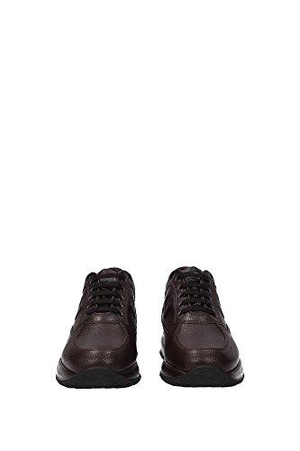 HXM00N09042DSUS807 Hogan Sneakers Uomo Pelle Marrone Marrone
