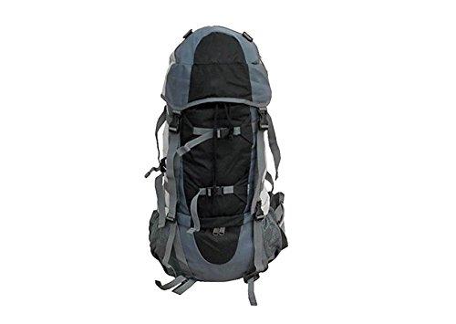 Xin.S70L Outdoor-Rucksack Bergsteigen-Tasche Umhängetasche Wandertasche Großer Rucksack Zum Regenschutz Multifunktionsrucksack. Mehrfarbig,Blue-33*21*68cm