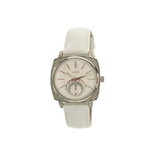 Joop - JP100342F04 - Montre Femme - Quartz Analogique - Bracelet Cuir Blanc