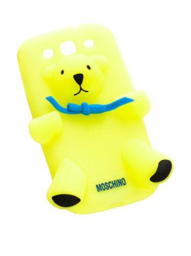 Love Moschino  Samsung S3, Damen Henkeltasche Gelb