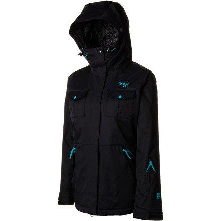 ORAGE Damen Jacke Cascade Down, damen, schwarz Teal Ski-jacke Für Frauen