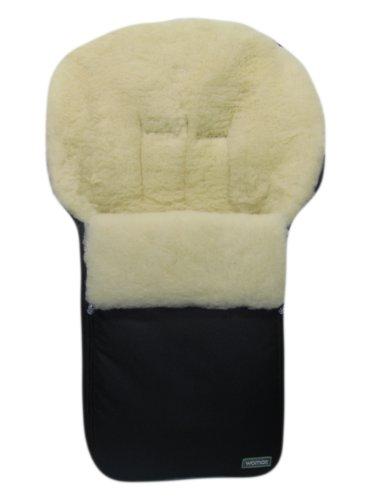 """'Hiver """"Peau d'agneau Chancelière Chancelière en Peau de Mouton 100% laine d'agneau/mouton en coton pour poussette Disponible en différentes couleurs"""