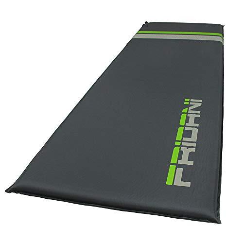 Fridani ISO 500 selbstaufblasende Isomatte 200x66x5 cm Luftbett leicht rutschfest wasserabweisend - 2-seitig Matratze