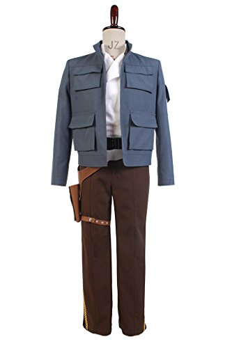 Star Wars Empire Strikes Back Han Solo Jacke Cosplay Kostüm (Han Empire Solo Kostüm)