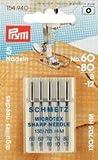 Nähmaschinennadeln 130/705 Microtex 60-80