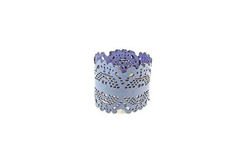LuRI Venezia Armband graublau, Blau - Babyblau - Größe: Taglia unica -
