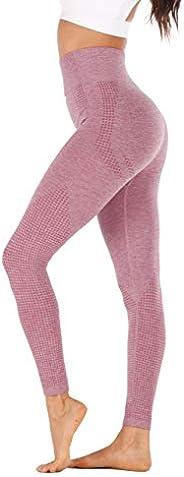 BASIC MODEL Women's Quick Dry Yoga Pant High Waist Running Workout Leggings Tummy Con