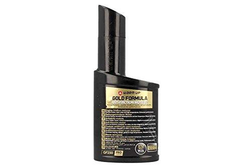 WARM UP Gold Formula GF250 Additivo Antiattrito Olio Motore Cambio Servosterzo Differenziale 250ml Riduce l'attrito l'usura e le temperature elevate.